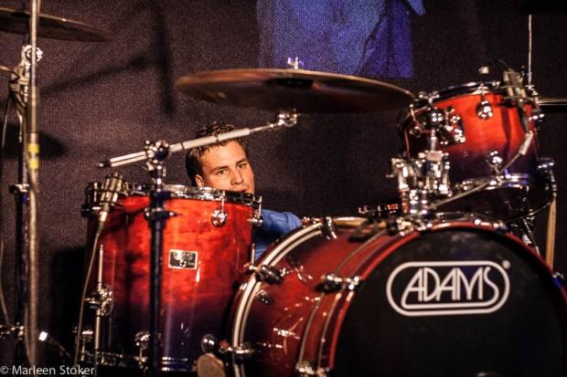 De uitgebluste drummer